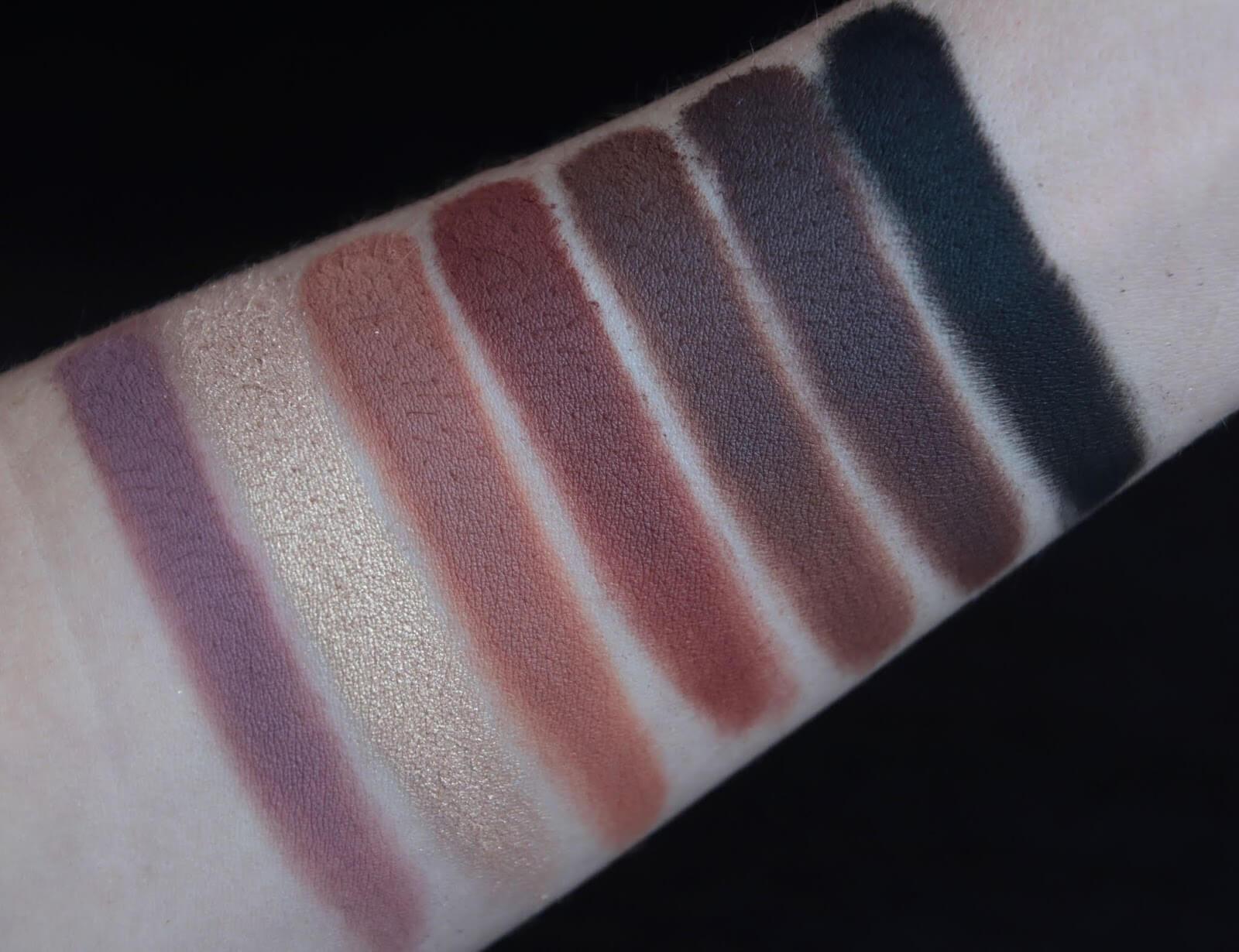 Anastasia Soft Glam Palette Swatch