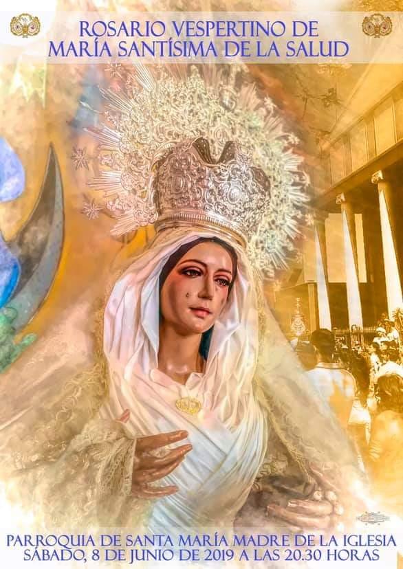 Hoy Rosario Vespertino de María Santísima de la Salud de Jaén