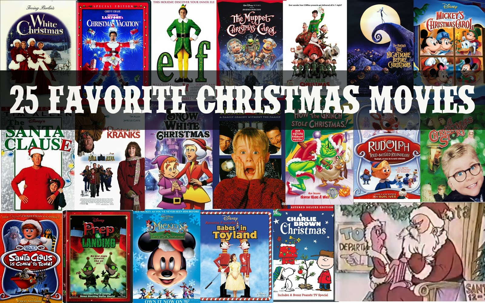 Funky Polkadot Giraffe 25 Favorite Christmas Movies To Watch During The Holidays