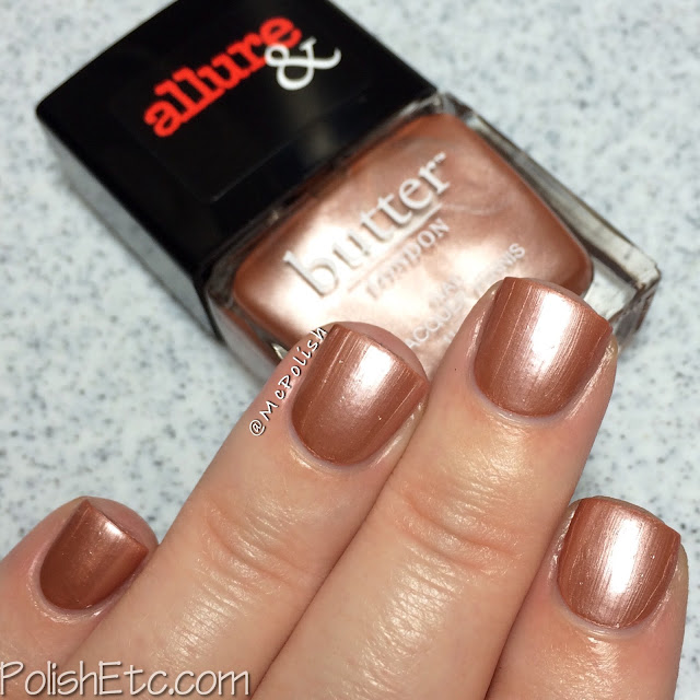 butterLONDON & Allure - Arm Candy Collection - McPolish - I'm on the List