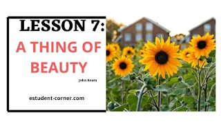 AHSEC | Lesson 7 | A Thing Of Beauty Questions Answers | Class 12 notes