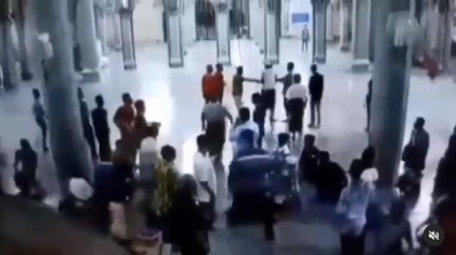 Beredar Video Imam Masjid Diserang Orang yang Mau Syahid dan Masuk Surga?