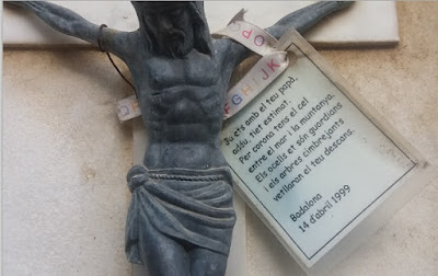 Detalle de la lápida que preside la tumba de Henri Rinck