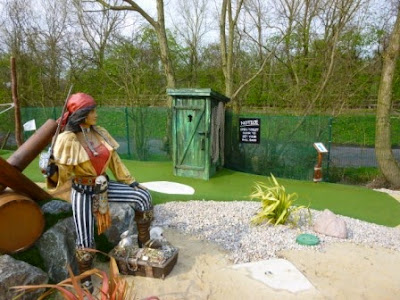 Pirate's Landing Adventure Golf at Trent Lock Golf Centre in Long Eaton