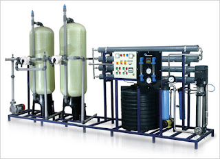 Bottle water treatment plant