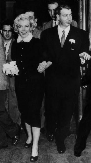 Marilyn Monroe e Joe Di Maggio casamento