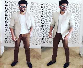 Spotted Gurmeet Choudhary in Alberto Torresi Shoes