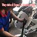 Thay chén cổ xe máy Piaggio Vespa LX tại TpHCM