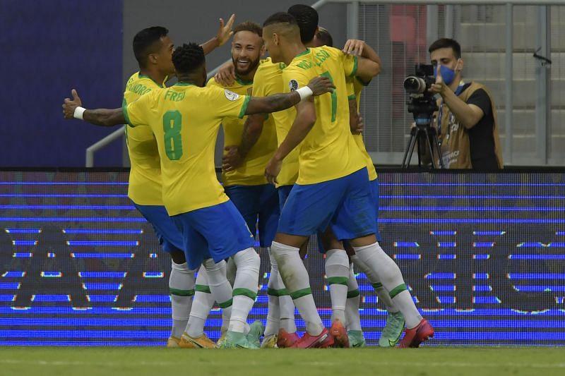 موعد مباراة البرازيل وبيرو