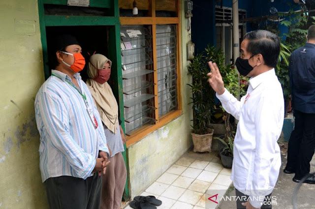 Jokowi: Kunci Pengendalian Corona Ada di Tingkat RT/RW