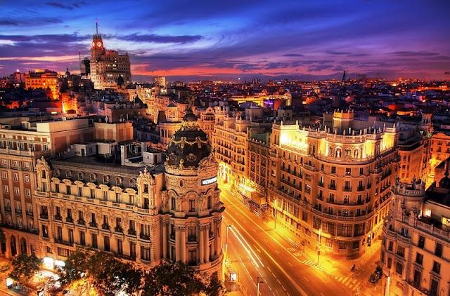Viagem de carro de Barcelona a Madri