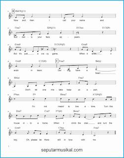chord a house is not a home 2 lagu jazz standar