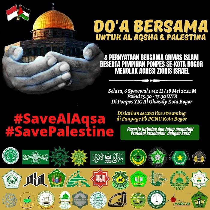 #SavePalestina! Ormas Keagamaan dan Pimpinan Seluruh Pesantren Kota Bogor Berkumpul Mengutuk Kebiadaban Agresi Israel