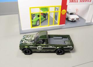 Hot Wheels Super Treasure Hunt Datsun 620