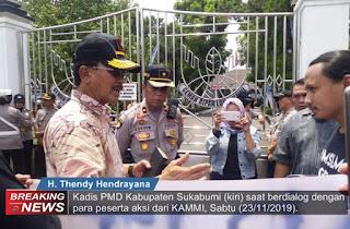 Kammi diterima Kadis PMD Kab Sukabumi