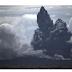Anak Krakatau Erupsi, Kolom Abu 1.000 Meter