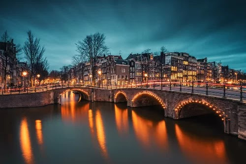 Amsterdam, the capital not only has red light district