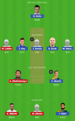 DUR vs NMG dream 11 team | NMG vs DUR