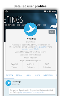 Tweetings for Twitter v11.13.4.5 Apk Patched [Latest]