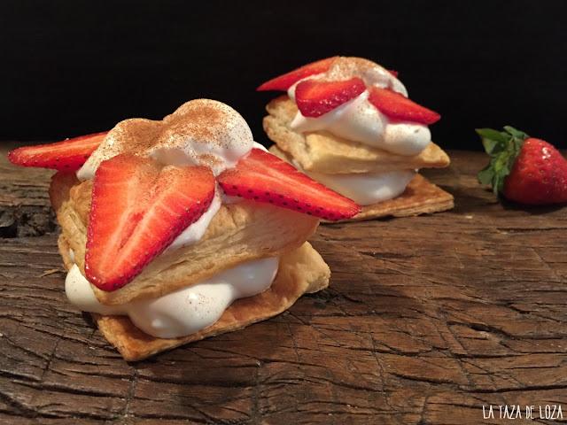 merengue-suizo-con-hojaldre-y fresas