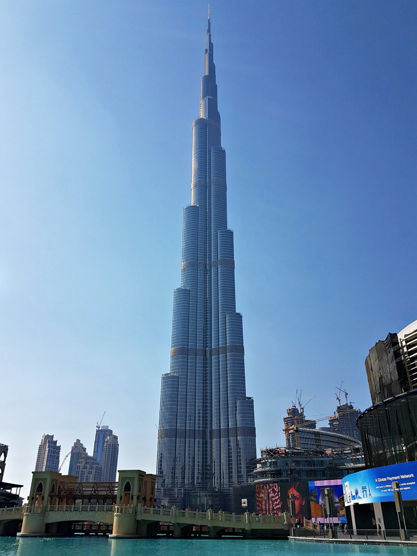 48 Hours in Dubai Burj Khalifa