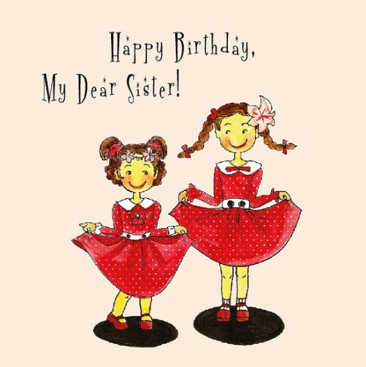 happy birthday my dear sister-sister birthday wishes