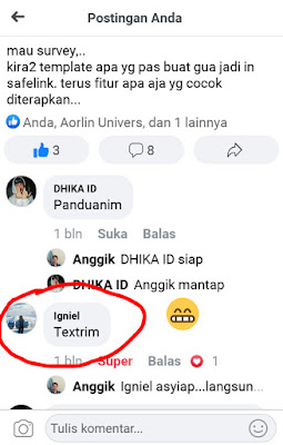 Screen Shoot Template Mbak Igniel