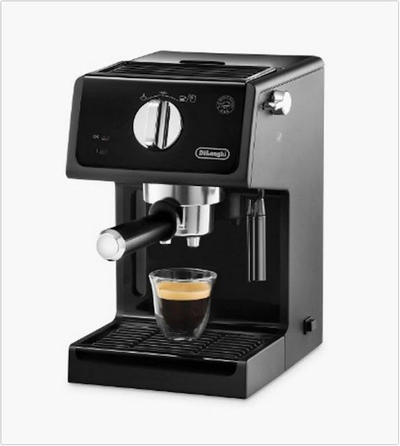 DeLonghi ECP 35.31 Coffee Maker;Coffee Maker With Built In Grinder;