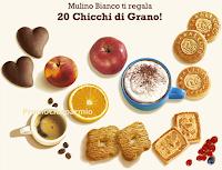 Logo Mulino Bianco: ricevi 20 Chicchi di Grano in regalo