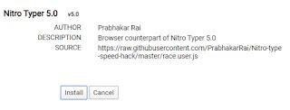 race.user.js script for nitro type