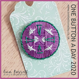 Day 351 : Scribble - One Button a Day 2020 by Gina Barrett