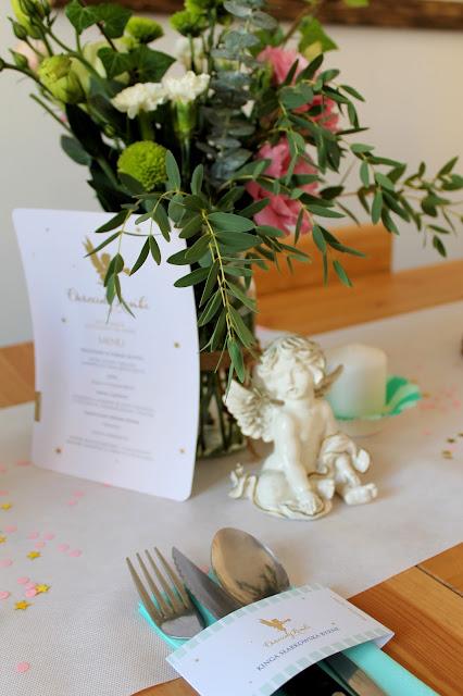 dekoracje papierowe, personalizowane dekoracje, dekoracje na przyjęcia, wiewiórka i spółka