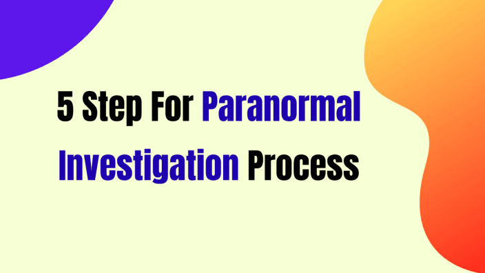 Paranormal Investigation Guide Book | Free Paranormal Investigation