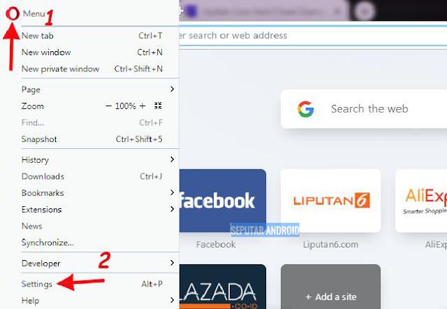 Cara Ampuh Membuka Situs Yang Diblokir DiLaptop Hanya Dengan Opera Mini