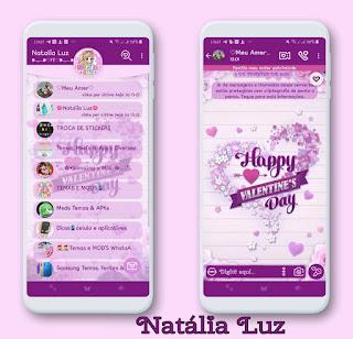 Happy Day Theme For YOWhatsApp & Fouad WhatsApp By Natalia Luz