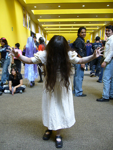 Cosplay para Halloween Sadako The Ring