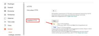 Cara Pasang HTTPS (SSL) di Blogger Dengan Domain TLD 2019
