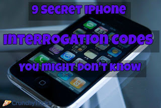 Secret iPhone Interrogation Codes