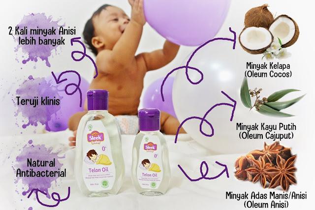 Cara Memilih Minyak Telon Bayi Terbaik Sleek Baby Telon Oil