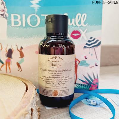 PurpleRain - BiotyfullBox Huile douche - Comptoir des Huiles