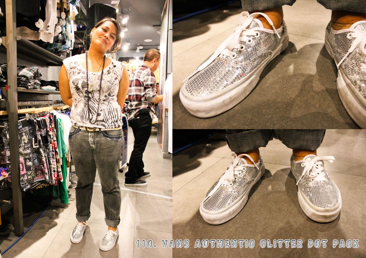 df7bcf6413 Astron Sneaker Hunts  110. Vans Authentic Glitter Dot Pack