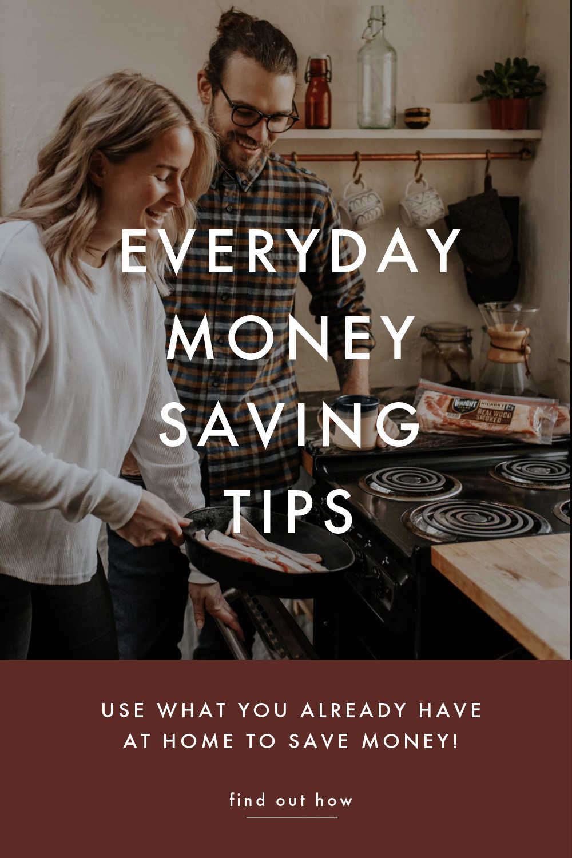 everyday money saving tips