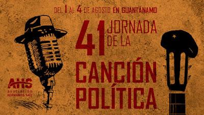 Jornada de la Canción Política  en Guantánamo:  más de cuatro décadas de poesía y trova