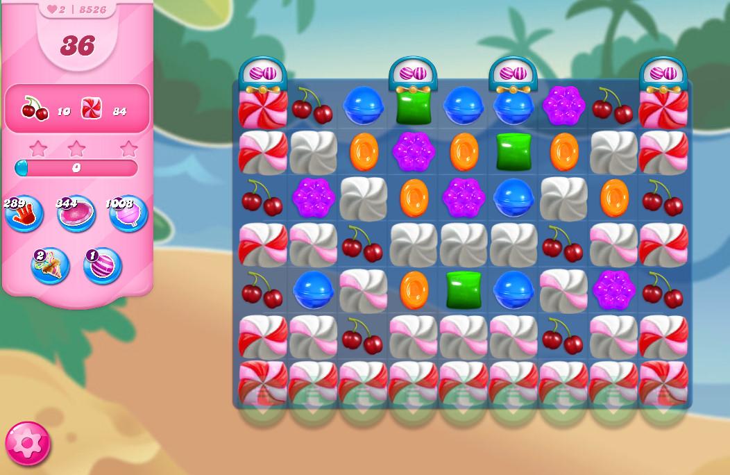Candy Crush Saga level 8526