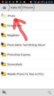 cara menyembunyikan foto dan video di galeri android