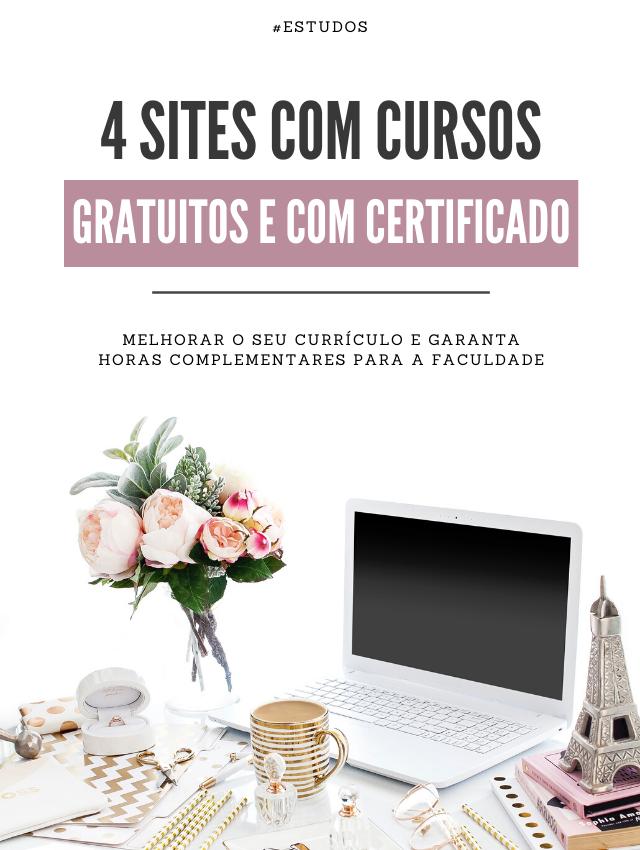 Cursos gratuitos e com certificado para melhorar o currículo