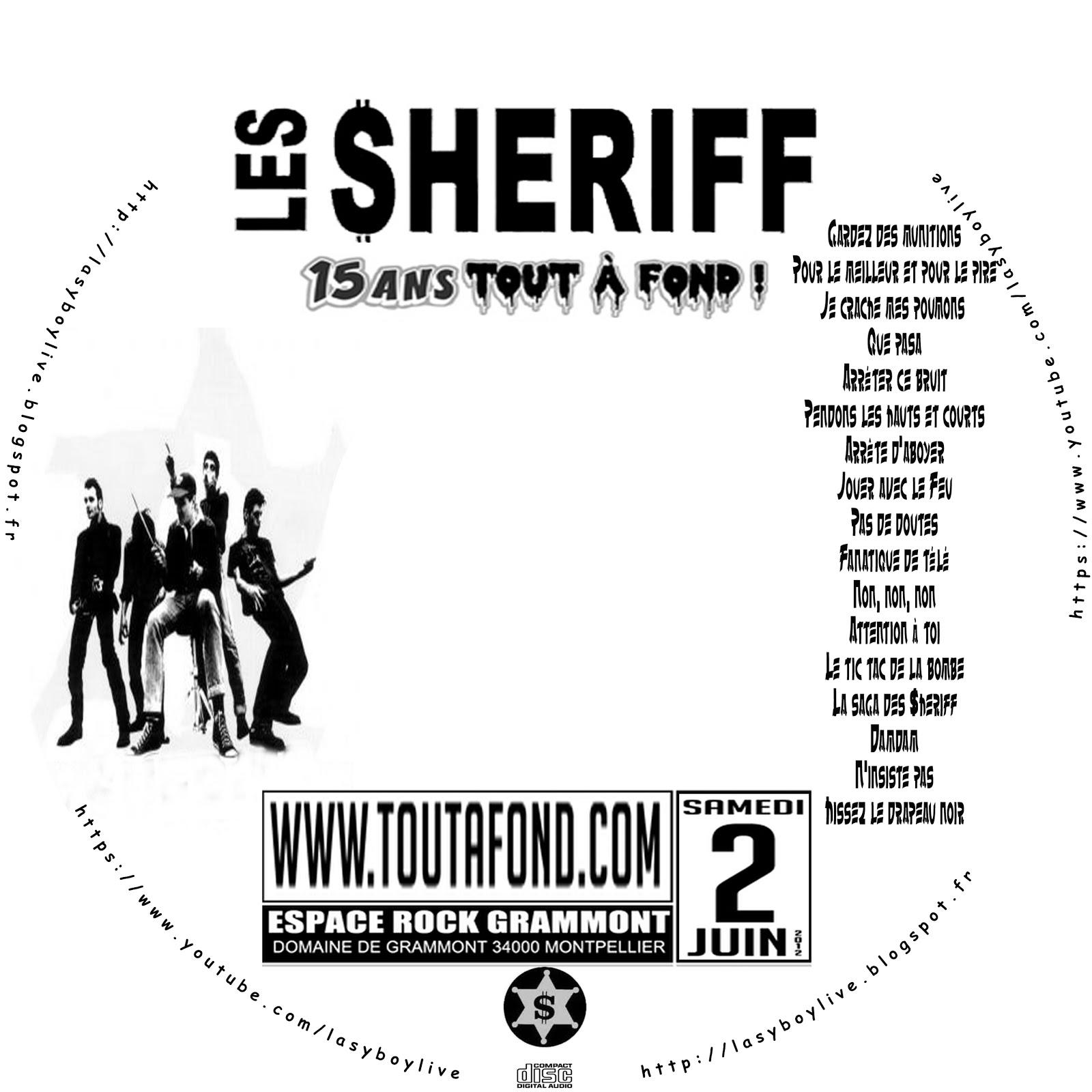lasyboylive: Les Sheriff @ Parc de Grammont, Espace Rock