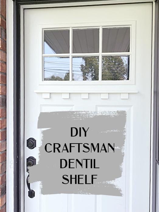 front door with overlay