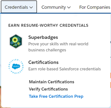 Take a Prep for Certification Image