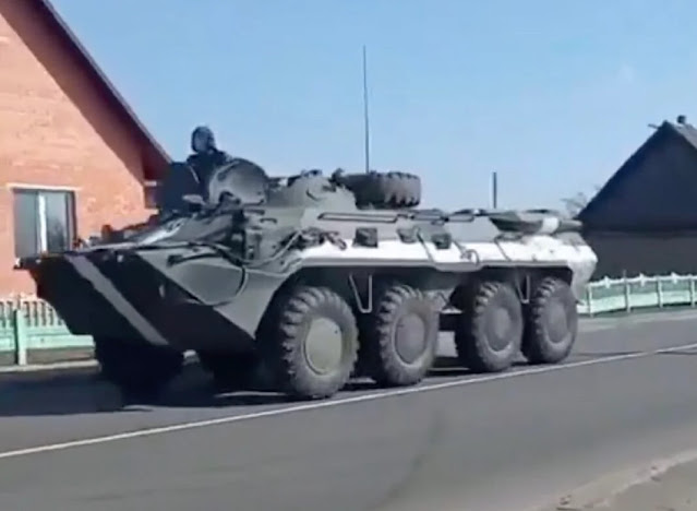 Belarus triển khai quân đội đến gần biên giới với Ukraine
